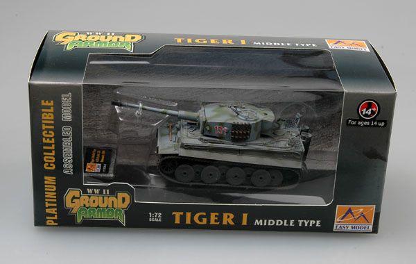 Easy Model Tiger 1 (Middle)-sPzAbt.101, Normandy 1943