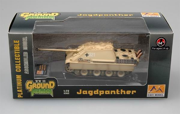 Easy Model Jagdpanther-s.Pz.JgAbt.654 France Autumn 1944