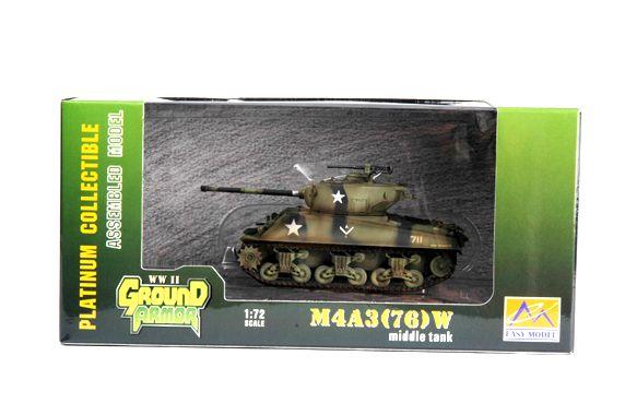 Easy Model M4A3 (76)w 714th tank Bat.12th Div.