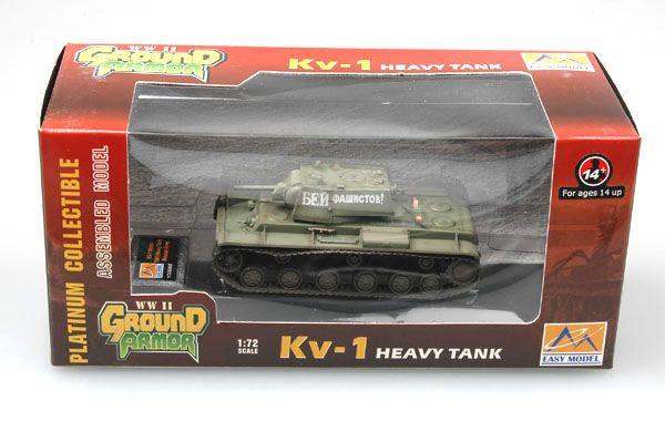 Easy Model Russian KV-1 1941 Green color