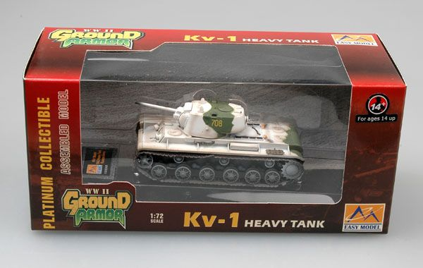 Easy Model Russian KV-1Kalininsky Front, winter 1943
