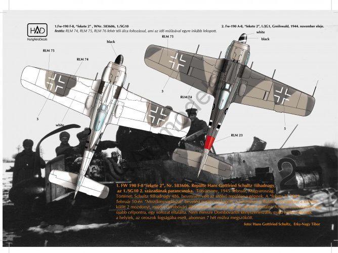 HAD FW190 A-8 / F-8