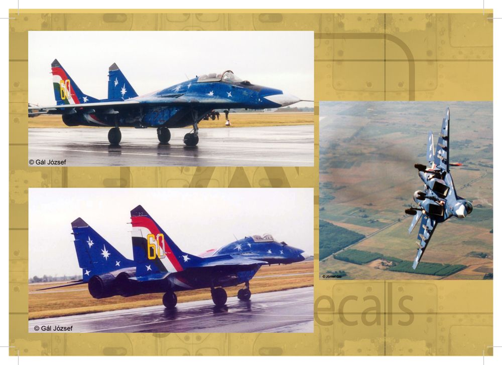 HAD Mig-29 (Hun1938-1998jubileum; IndiaKB707; Iran36103)
