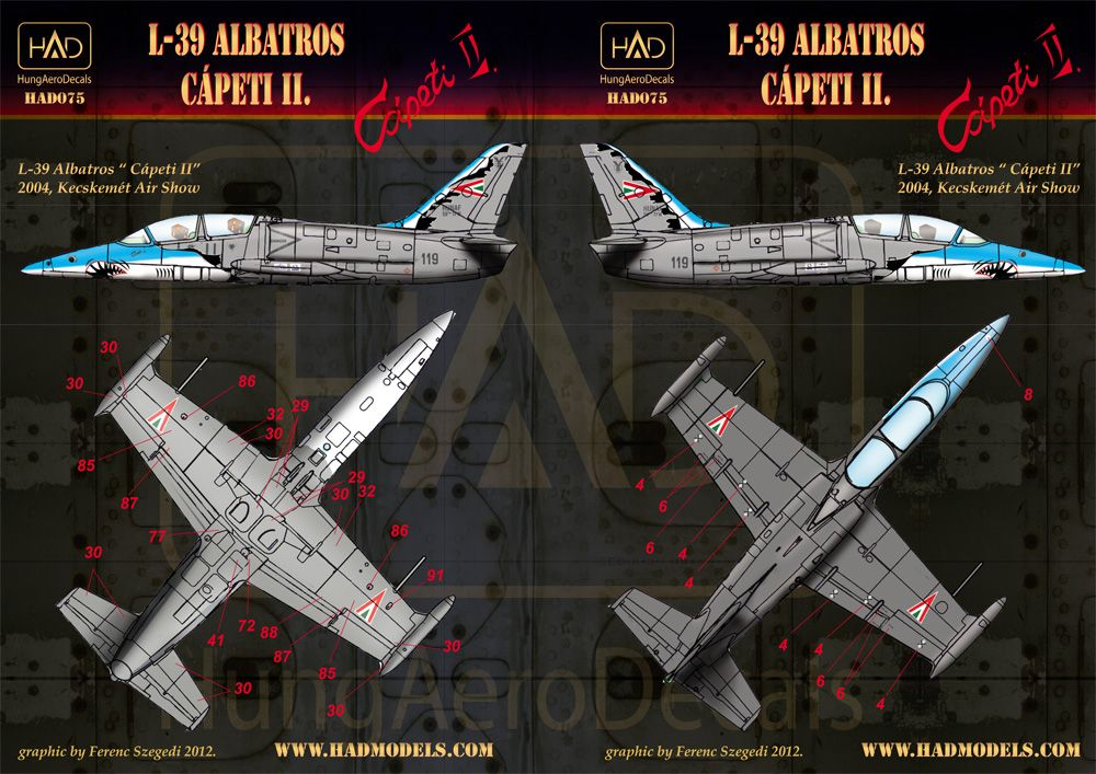 HAD L-39 Albatros Cápeti II