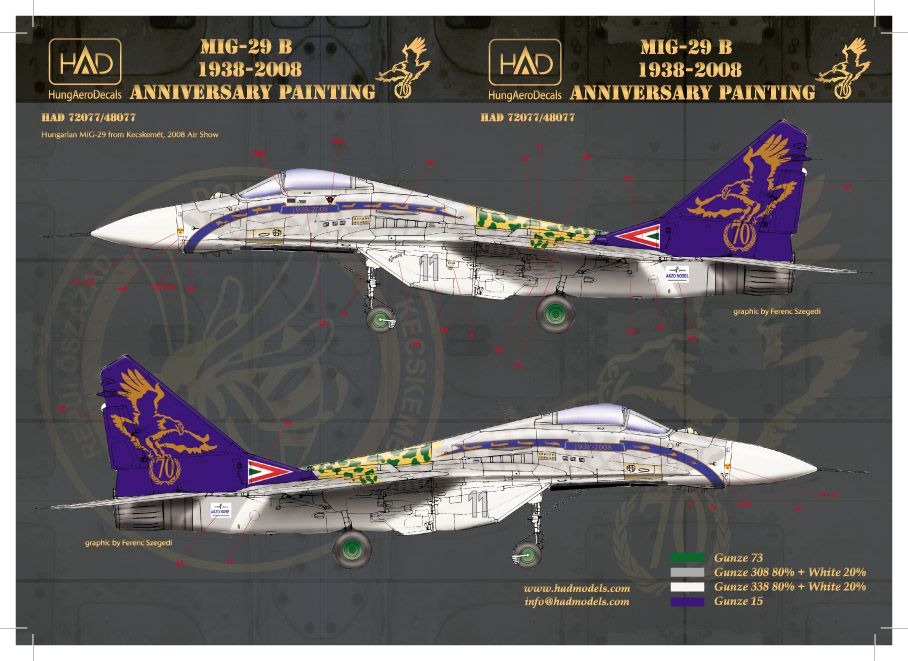 HAD Mig-29 2008 Jubileumi