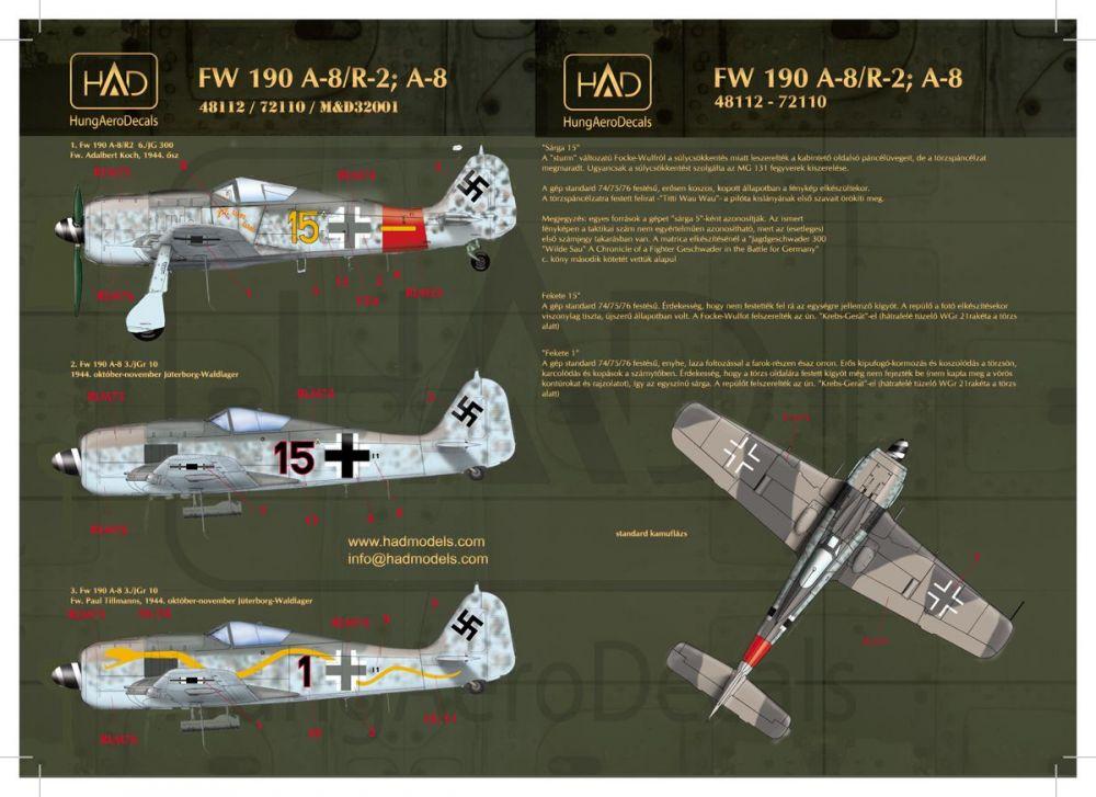 HAD Fw-190 A-8 / R2
