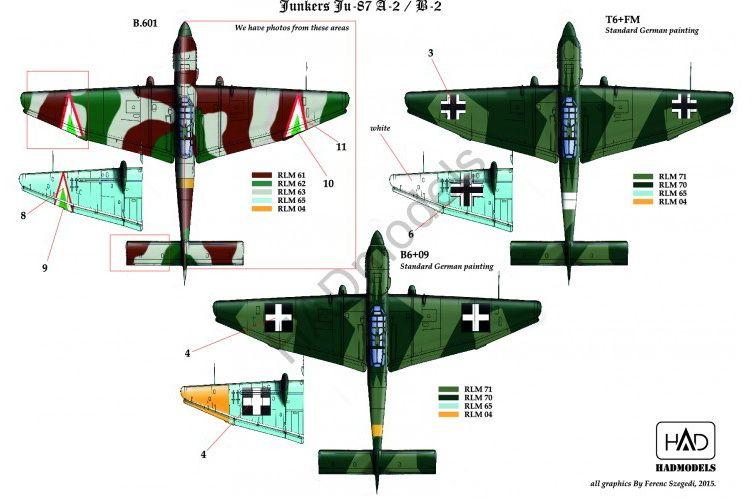 HAD Ju-87 A/B Stuka
