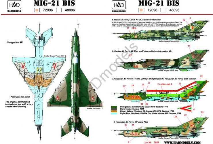 HAD MiG-21 MF/bis