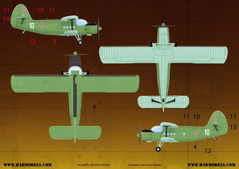 HAD An-2 decal sheet