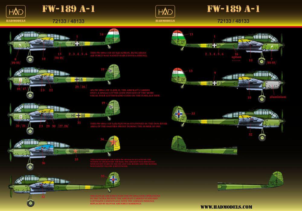 HAD FW-189 A-1