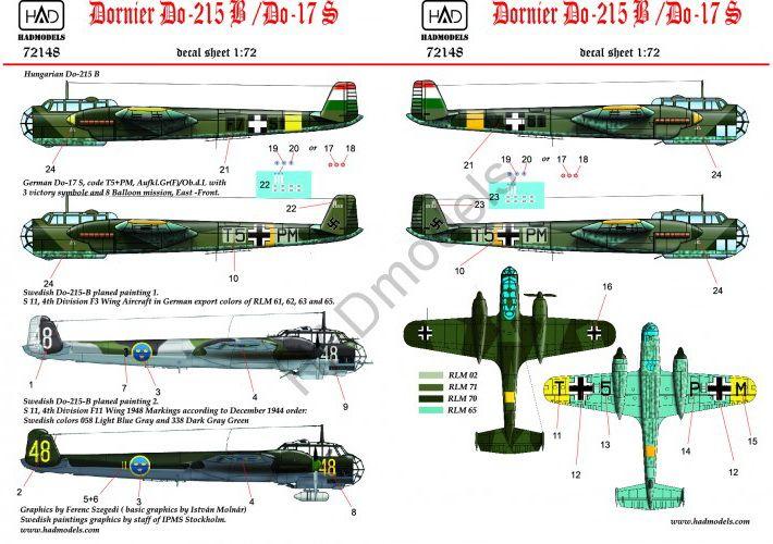 HAD Dornier Do-215 B/ Do-17 S