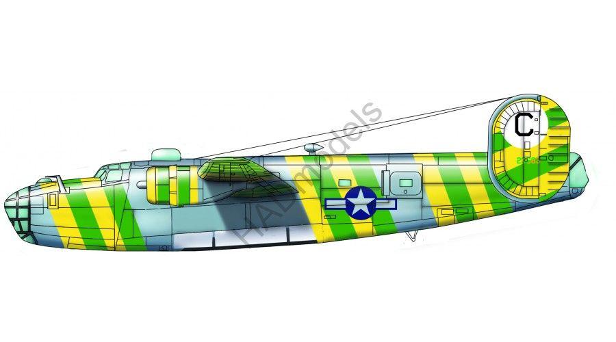 HAD B-24D Green Dragon USAAC No. 41-23683