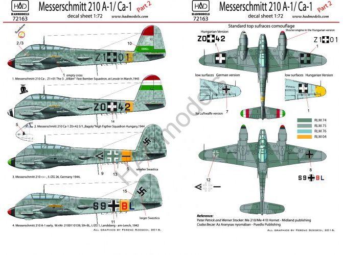 HAD Me 210 A-1 / Ca-1