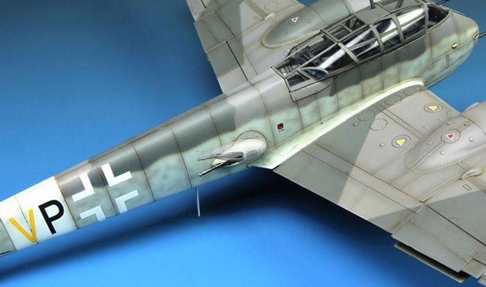 Meng Model Messerschmitt Me410B-2/U4 heavy fighter