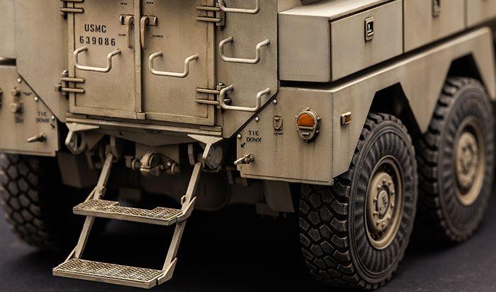 Meng Model U.S. Cougar 6x6 MRAP Vehicle