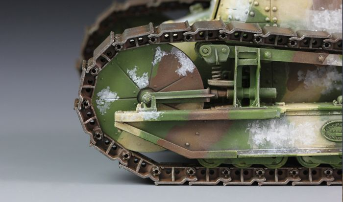 Meng Model French FT-17 Light Tank (Cast Turret)