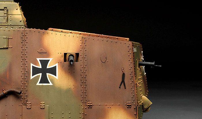 Meng Model German A7V tank (Krupp)