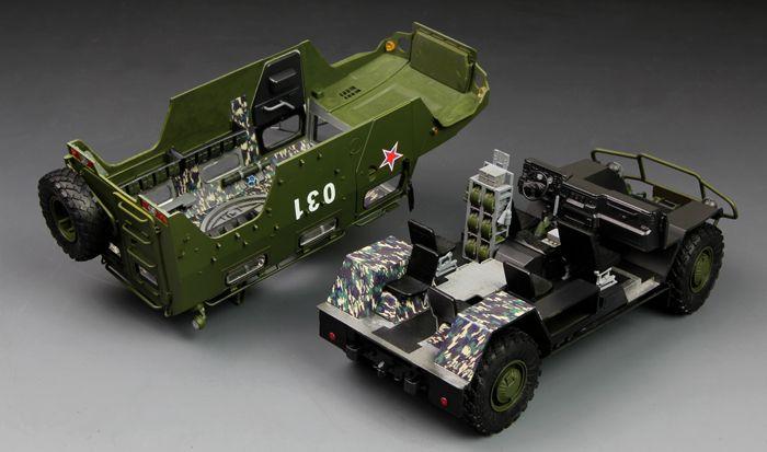 Meng Model Russian GAZ-233014 STS Tiger