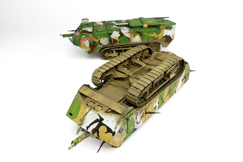 Takom French Heavy Tank St.Chamond Early Type