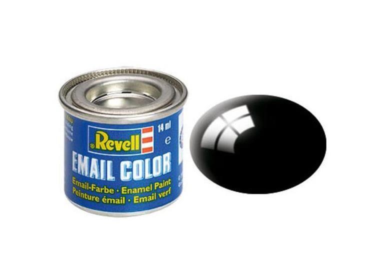 Revell Enamel Color 7 Gloss Black