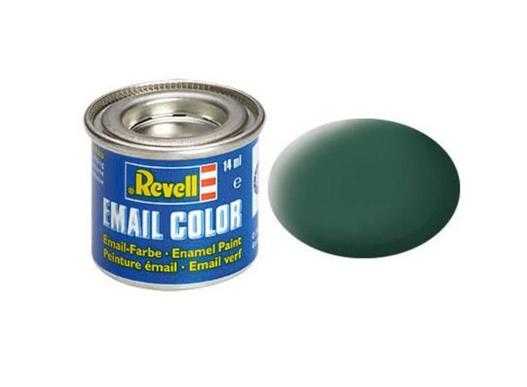 Revell Enamel Color 40 Matt Black Green