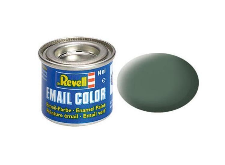 Revell Enamel Color 67 Matt Greenish Grey