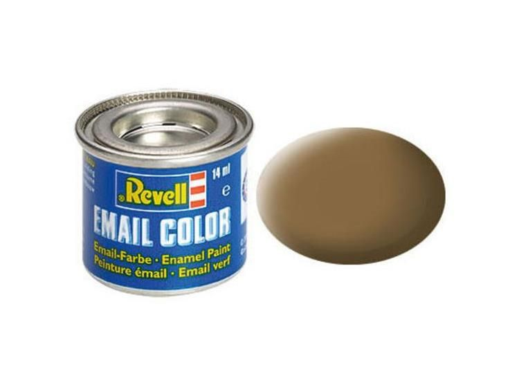 Revell Enamel Color 82 Matt Dark Earth