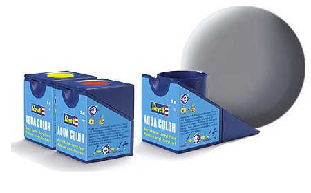 Revell Aqua Color Mouse Grey Matt