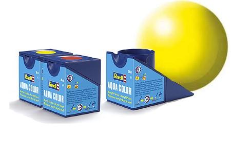 Revell Aqua Color Luminous Yellow Satin