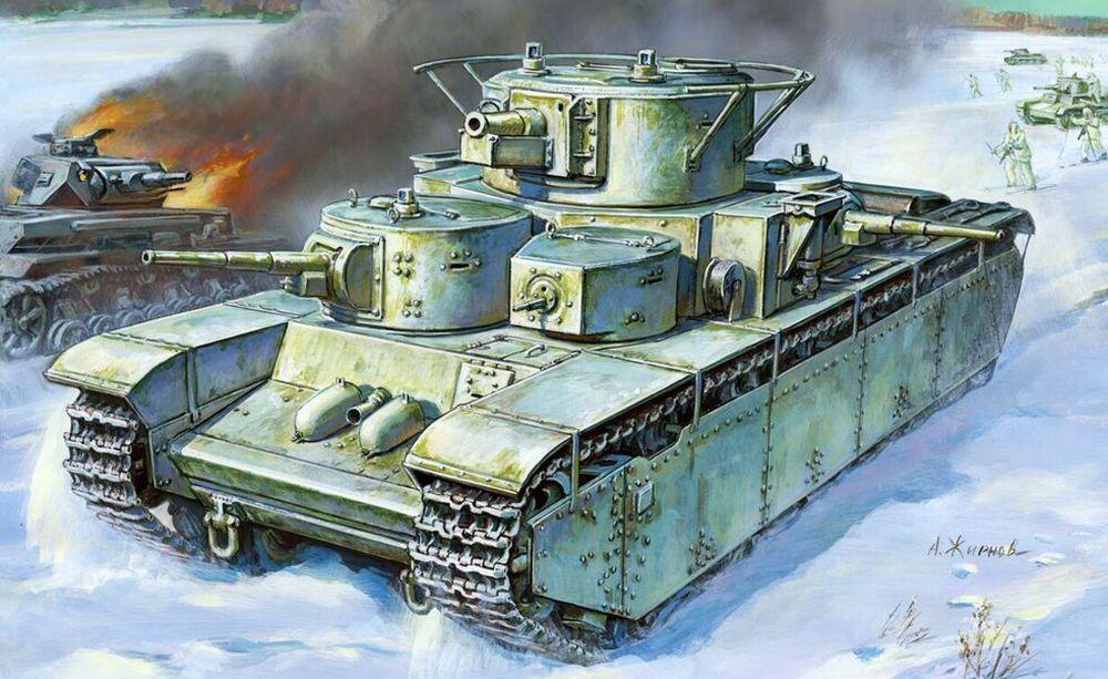 Zvezda T-35 Heavy Soviet Tank