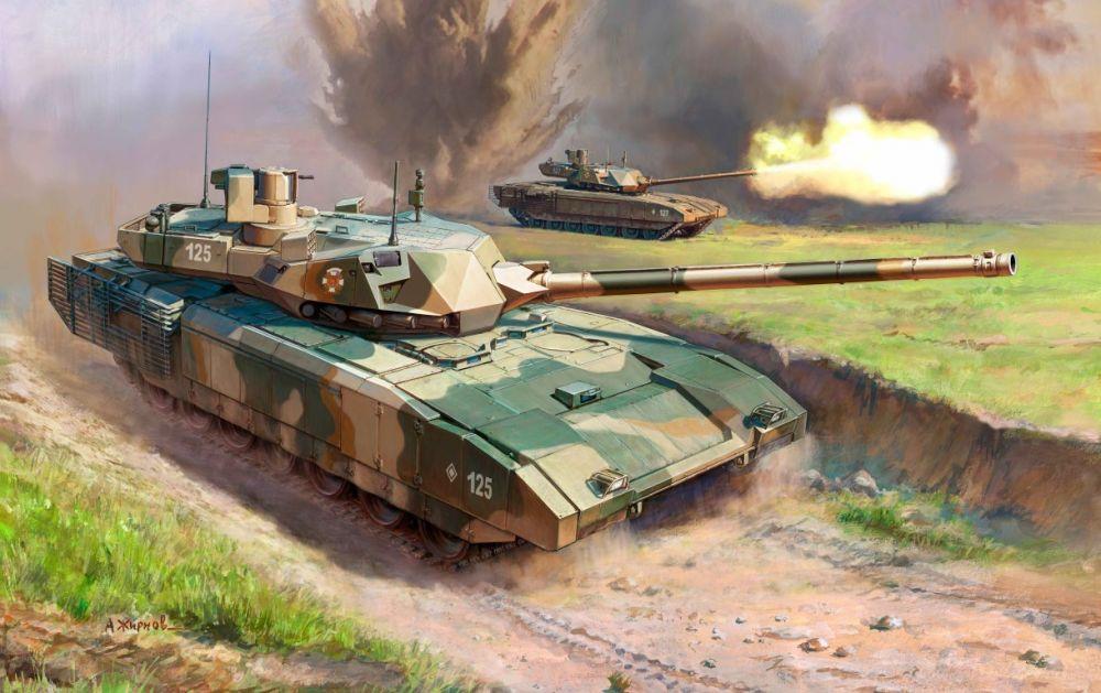 Zvezda Russian T-14 Armata