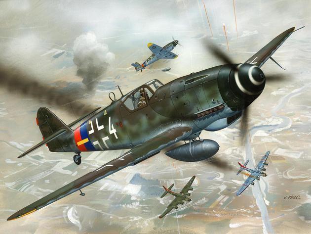 Revell Messerschmitt Bf 109 G-10
