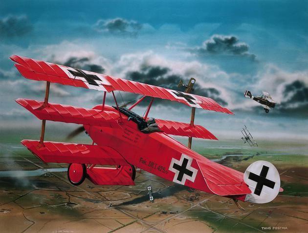 Revell Fokker Dr.1 Richthofen