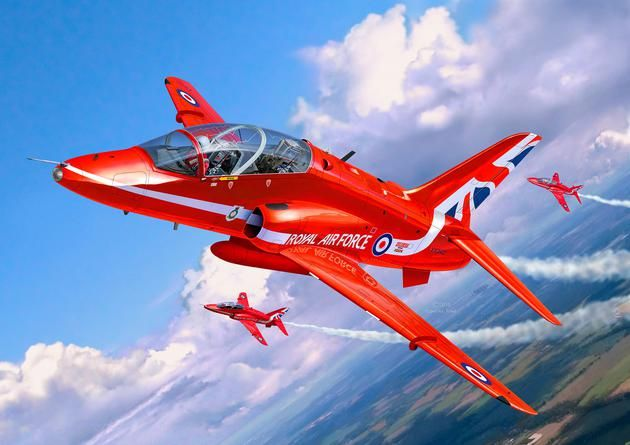 Revell BAe Hawk T.1 Red Arrows