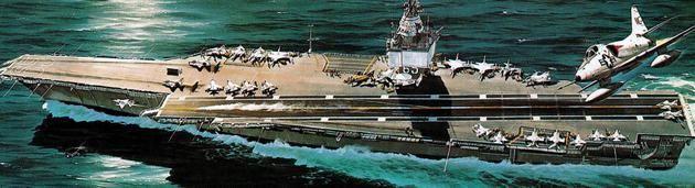Revell Nuclear Carrier U.S.S. Enterprise