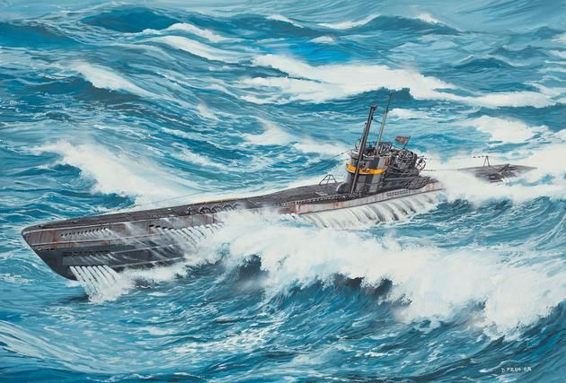 Revell U-Boot Typ VIIC41