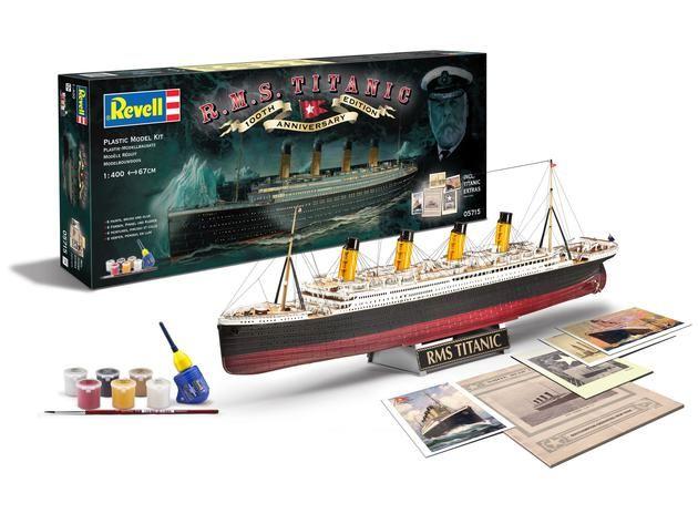 Revell Model Set R.M.S. Titanic - 100th Anniversary Edition
