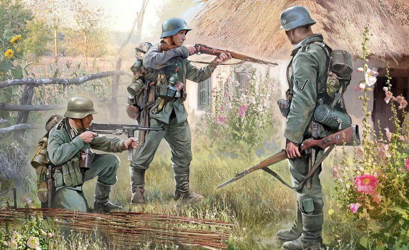 Zvezda German Infantry