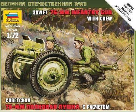 Zvezda Soviet 76-mm Gun