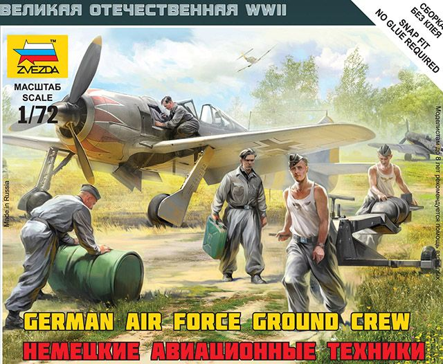 Zvezda German Airforce Ground Crew