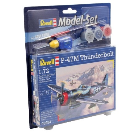 Revell Model Set P-47 M Thunderbolt