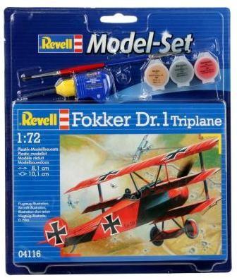 Revell Model Set Fokker DR.1