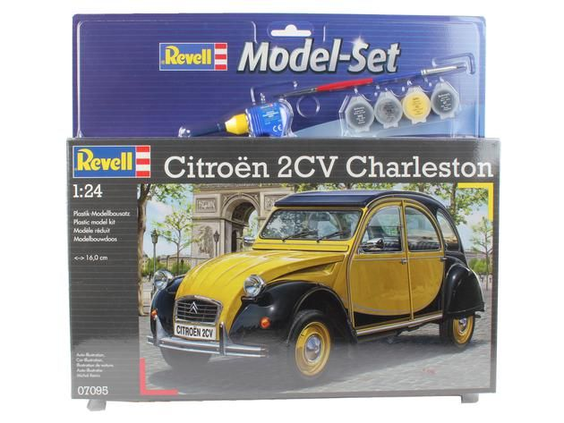 Revell Model Set Citroen 2CV CHARLESTON