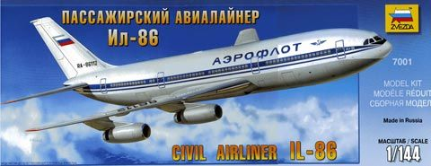 Zvezda Ilyushin IL-86