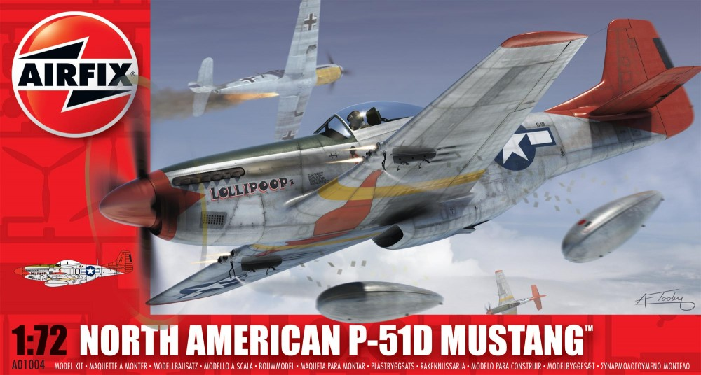 AirFix North American P-51D Mustang
