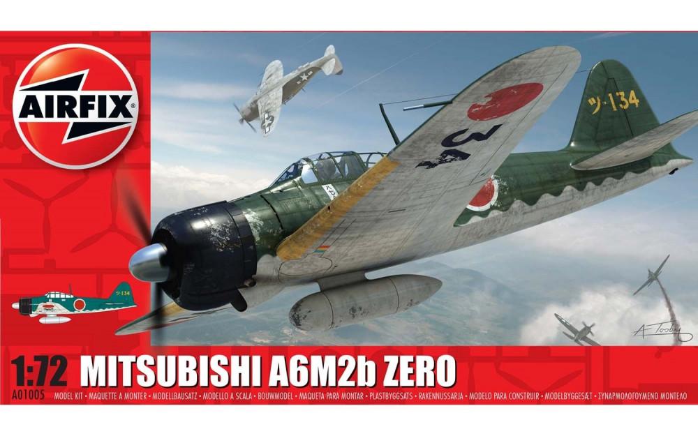 Airfix Mitsubishi Zero A6M2b