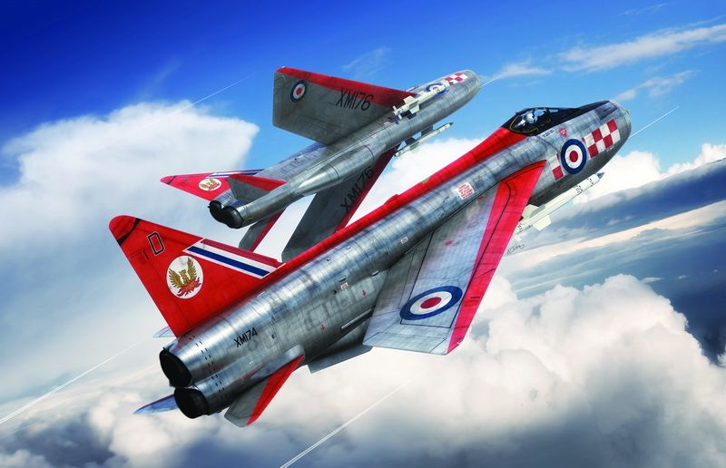 Airfix English Electric Lighting F1-F2A