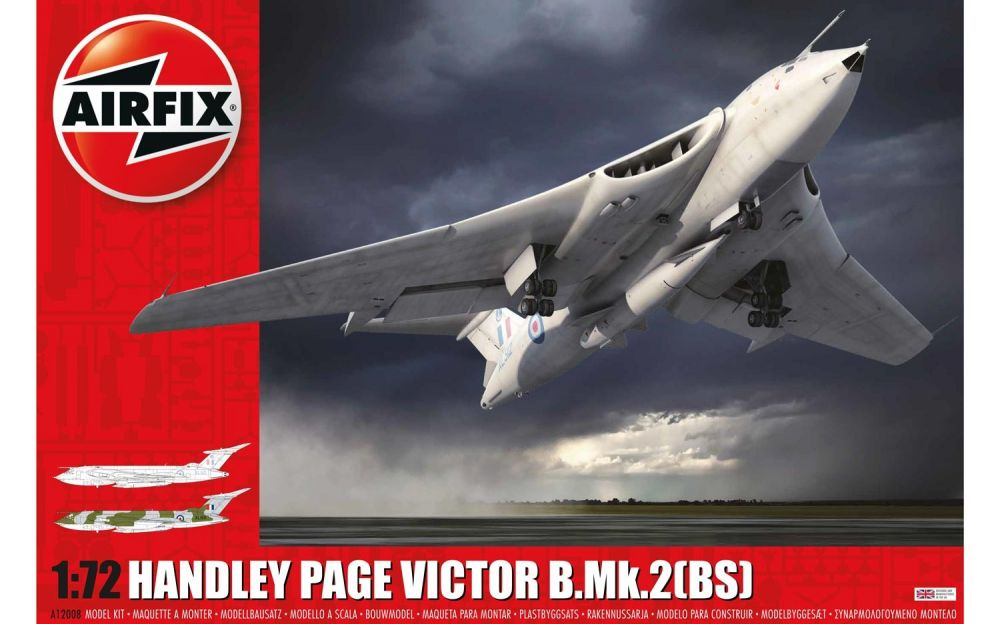 Airfix Handley Page Victor B.2 with Blue Steel missile