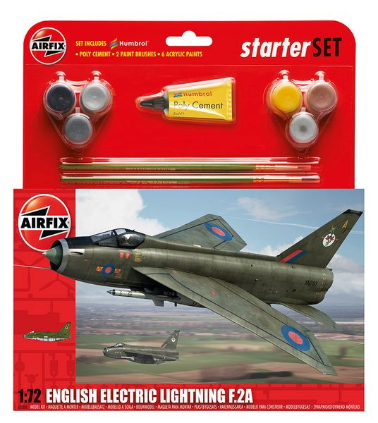 Airfix English Electric Lightning F2A