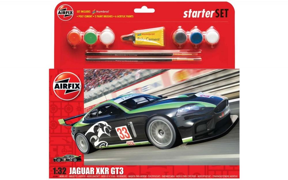 Airfix Jaguar XKR GT3 Starter Set